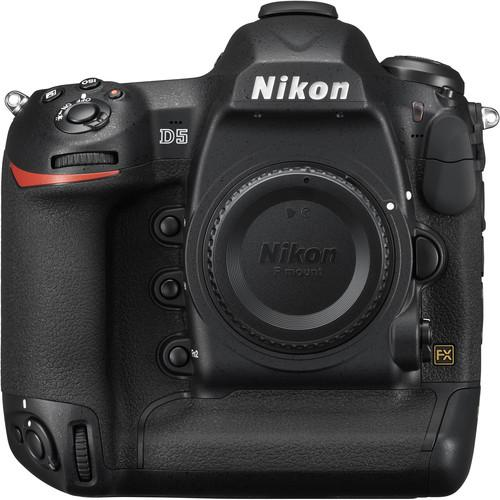 Nikon D5 DSLR Camera (D5 Body Only, Dual XQD) 1557