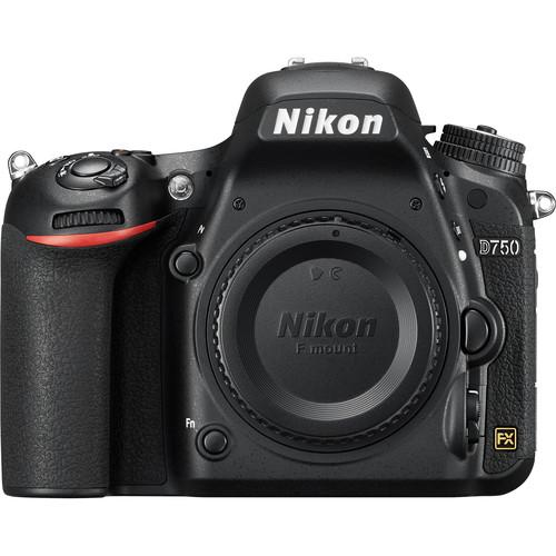 Nikon  D750 DSLR Camera Body Basic Kit