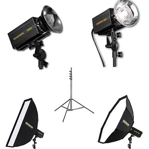 Novatron M300 / M500 2-Monolight Kit with 2 Softboxes N2644KIT