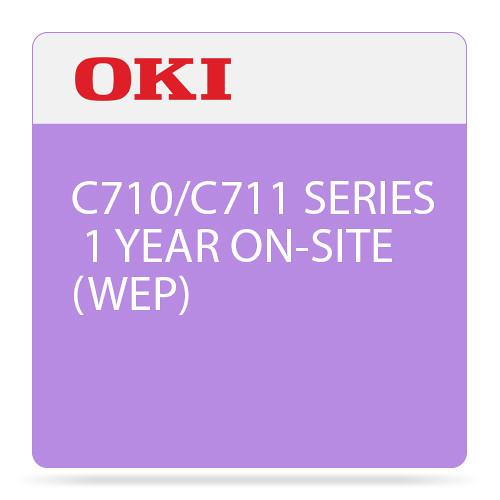 OKI 1-Year On-Site Warranty Extension License 38003601
