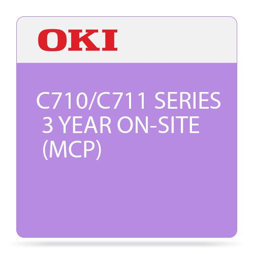 OKI 3-Year On-Site Maintenance Contract for C710/C711 38003703