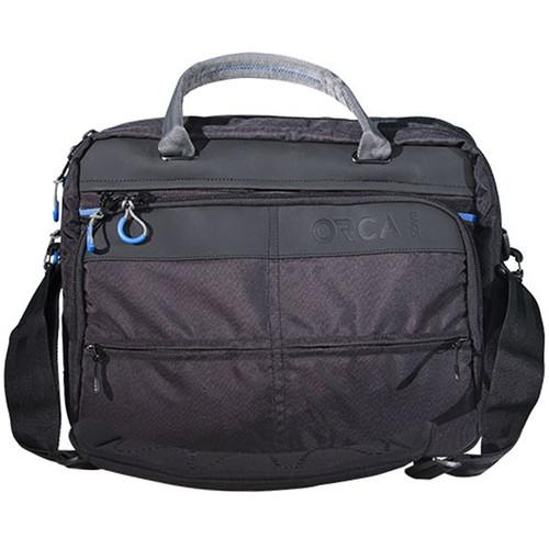 ORCA  Shoulder Laptop Bag (Black) OR-80