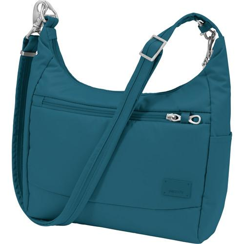 Pacsafe Citysafe CS100 Anti-Theft Travel Handbag (Teal) 20210613