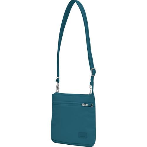 Pacsafe Citysafe CS50 Anti-Theft Cross Body Purse (Teal)