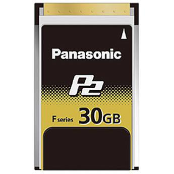 Panasonic 30GB F-Series P2 Memory Card AJ-P2E030FG