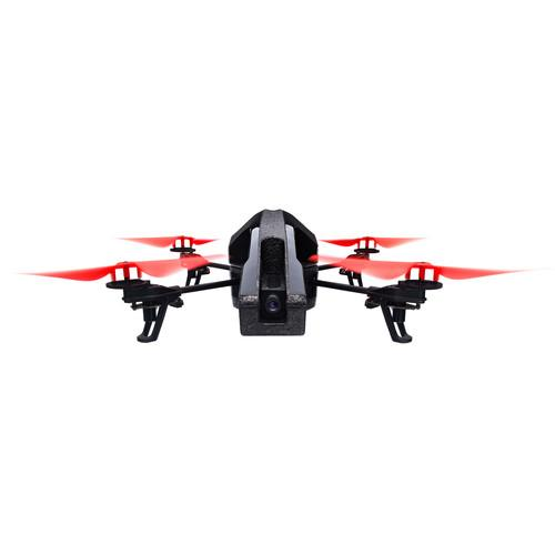 Parrot AR.Drone 2.0 Quadcopter Power Edition (Red) PF721005