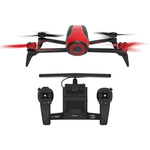 Parrot BeBop Drone 2 with Skycontroller (Red) PF726100