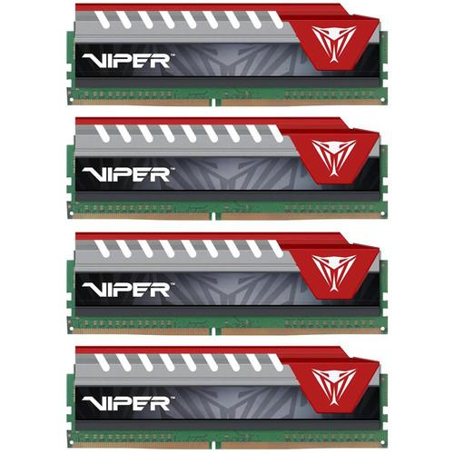 Patriot Viper Elite Series DDR4 64GB (4 x 16GB) PVE464G280C6QKR