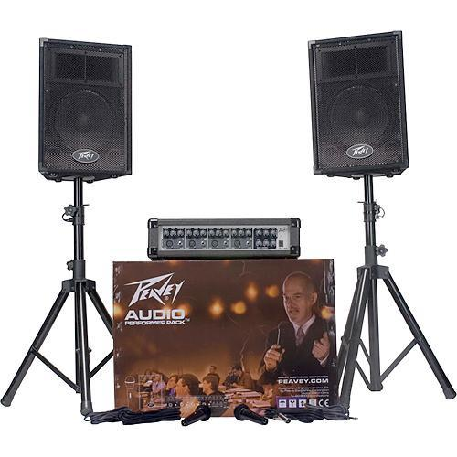 Peavey Audio Performer Pack - Complete PA System 00595700
