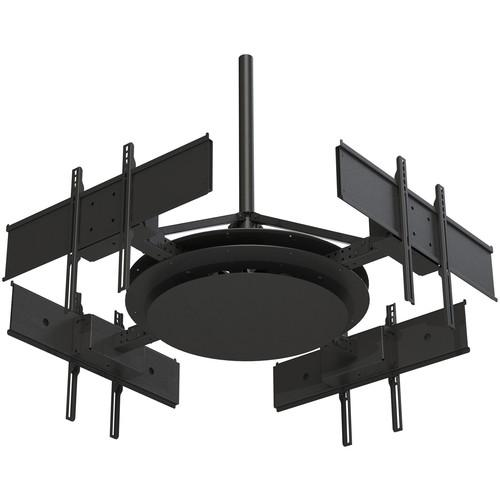 Peerless-AV Multi-Display Ceiling Mount with Four DST975-4