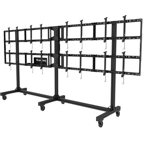 Peerless-AV Portable Video Wall Cart for 46 to DS-C555-4X2