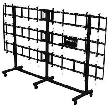 Peerless-AV Portable Video Wall Cart for 46 to DS-C555-4X3