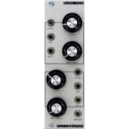 Pittsburgh Dual VCA - Dual-Linear VCA / 2-Channel PMS2005