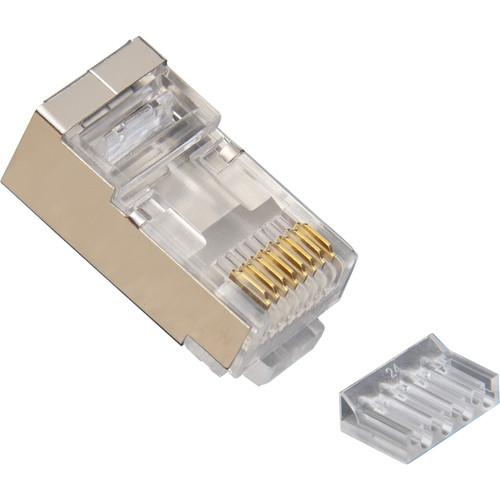 Platinum Tools RJ45 Standard Shielded 2-Piece CAT6 106205
