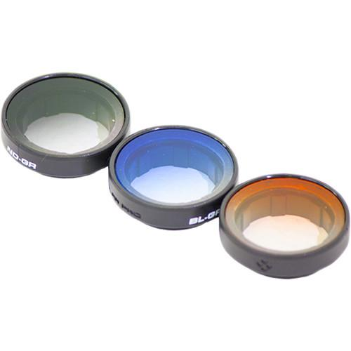 Polar Pro Frame2.0 Gradient Filter 3-Pack for GoPro HERO4, P3007