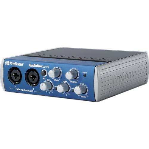 PreSonus AudioBox 22VSL Interface with Eris E5 Speakers Studio