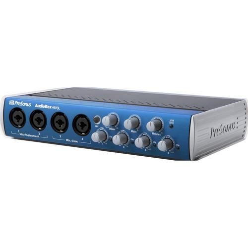 PreSonus AudioBox 44VSL Interface with Eris E5 Speakers Studio