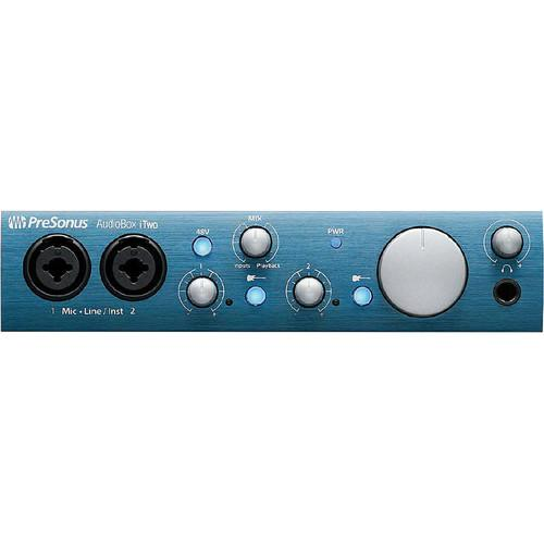 PreSonus AudioBox iTwo Interface with Eris E5 Speakers Studio