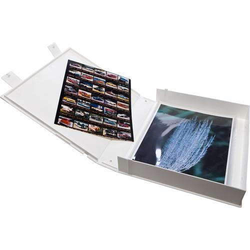 Print File Safe-T-Binder without Rings (White) VUE-226