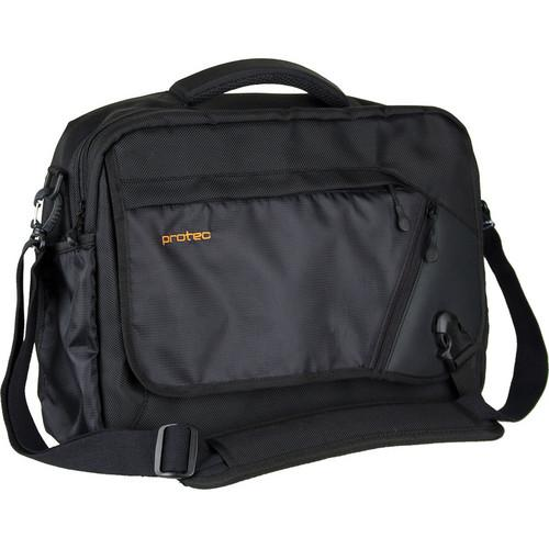 PRO TEC  Deluxe Camera Messenger Bag (Black) P501