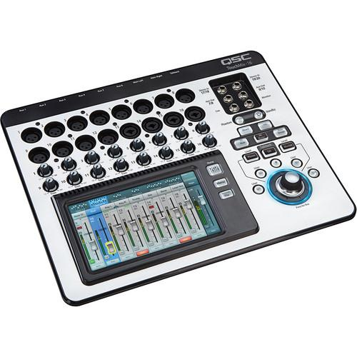 QSC TouchMix-16 Compact Digital Mixer Kit with 3x Sennheiser