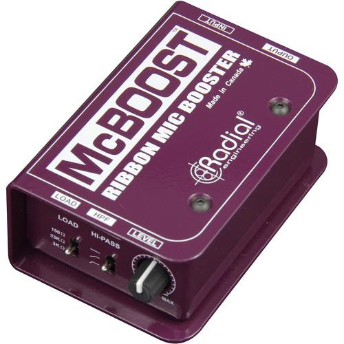 Radial Engineering McBoost Microphone Signal R800 8016 0
