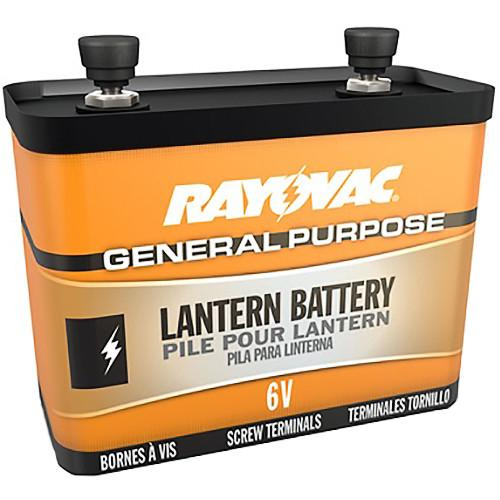 RAYOVAC 6V General-Purpose Lantern Battery with Screw 918