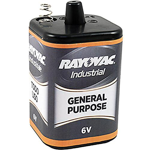 RAYOVAC 6V General-Purpose Lantern Battery with Spring 6V-GP