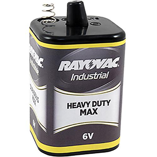 RAYOVAC 6V Heavy-Duty-Max Lantern Battery with Spring 6V-HDM