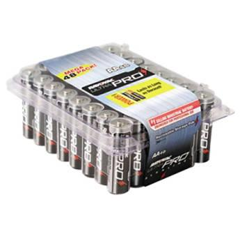 RAYOVAC AA Alkaline Battery (Re-Sealable, 48-Pack) ALAA-48