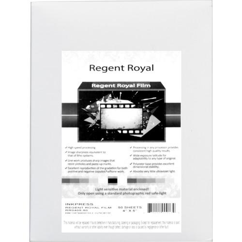 Regent Royal Film Regent Royal Hard Dot Camera Film RRF4550