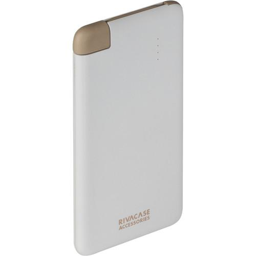 RIVACASE 4000 mAh Portable Power Pack (White) VA2004WHT