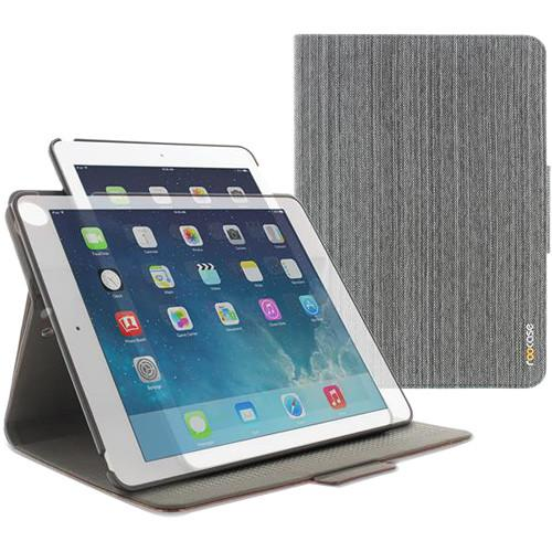 rooCASE Orb Folio Case for Apple iPad RC-ORB-FOL-IPD-AIR2-CGY