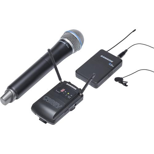 Samson Concert 88 Camera Combo UHF Wireless SWC888VBH108-D