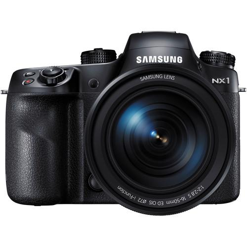 Samsung NX1 Mirrorless Digital Camera Body with 16-50mm f/2-2.8