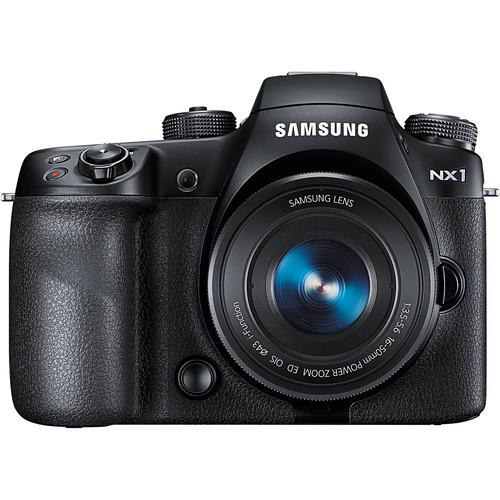 Samsung NX1 Mirrorless Digital Camera with 16-50mm Power Zoom
