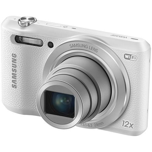 Samsung  WB35F Digital Camera Basic Kit (White)