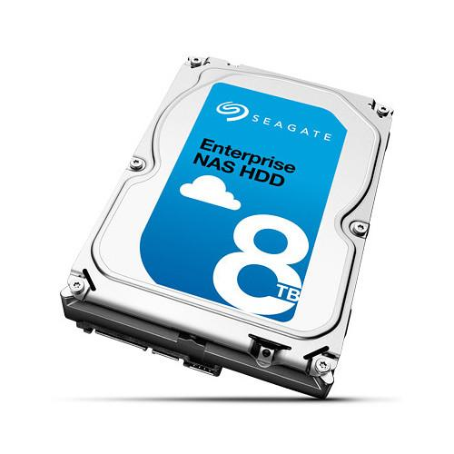 Seagate Enterprise NAS HDD SATA 6Gb/s 512E 8TB Hard ST8000NE0001