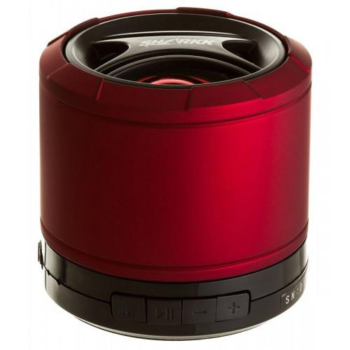 SHARKK Bluetooth Mini Portable Speaker (Red/Black) SKBT871