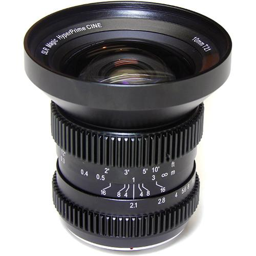 SLR Magic 10mm T2.1 HyperPrime Cine and SLR-1021MFT   2595MFT