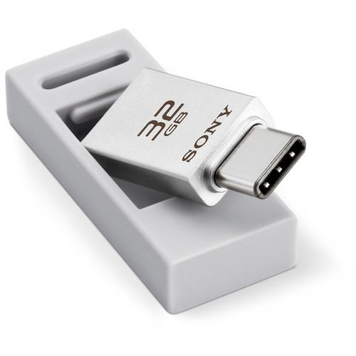 Sony 32GB USB 3.0 Type-C/USB Type-A Dual-Connection USM32CA1/S