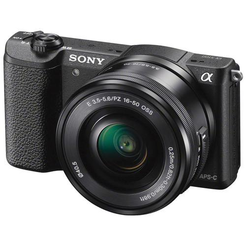 Sony Alpha a5100 Mirrorless Digital Camera with 16-50mm and