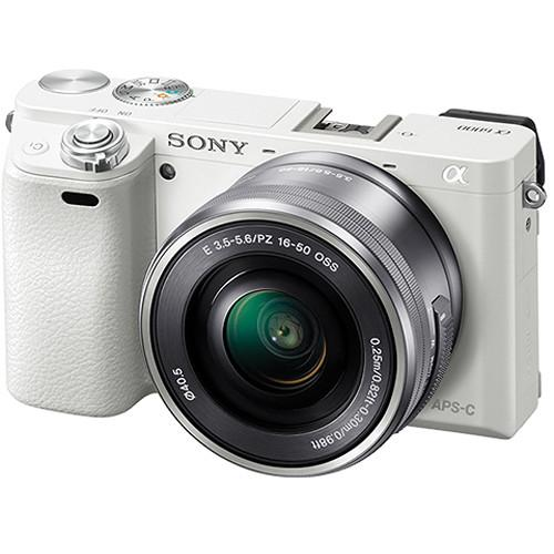 Sony Alpha a6000 Mirrorless Digital Camera with 16-50mm and