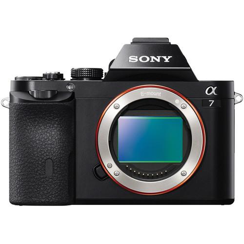 Sony Alpha a7 Mirrorless Digital Camera Body with Battery and