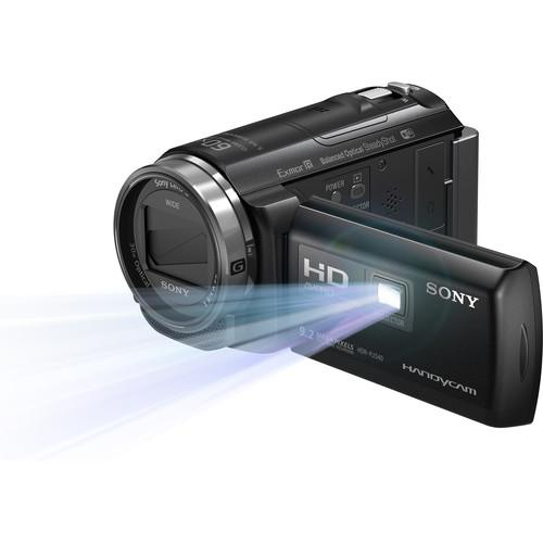 Sony HDR-PJ540 Full HD 32GB Camcorder with Built-In Projector