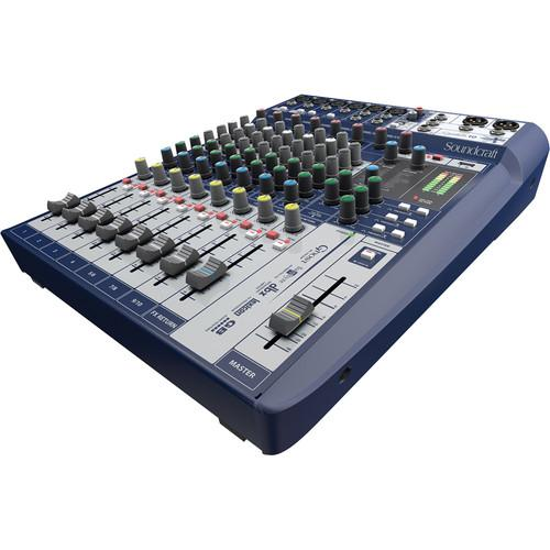 Soundcraft Signature 10 10-Input Mixer with Effects 5049551