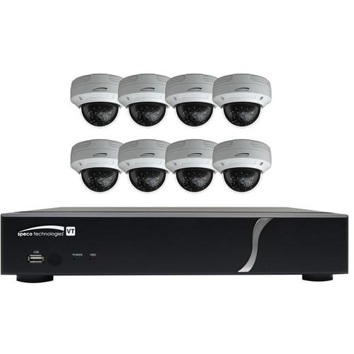 Speco Technologies ZIPT88D2 8-Channel HD-TVI Digital ZIPT88D2