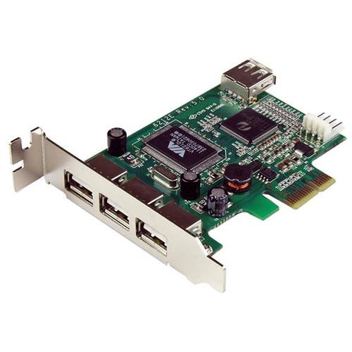 StarTech 4-Port PCI Express Low-Profile High-Speed USB PEXUSB4DP
