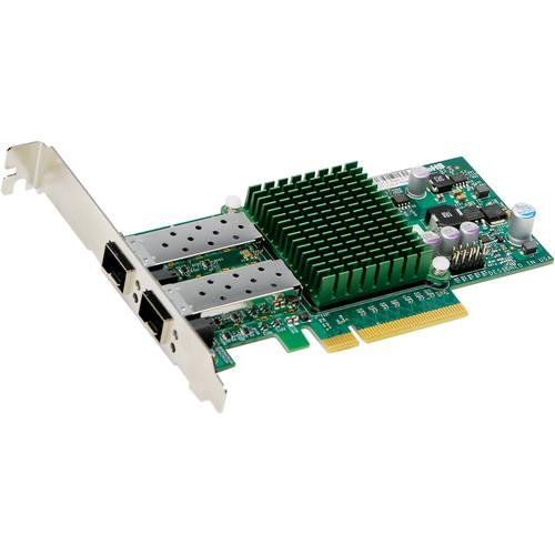 Supermicro 2-Port SFT  Flexible and Scalable 10GbE AOC-STGN-I2S