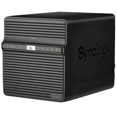 Synology DiskStation DS416j 4-Bay NAS Enclosure DS416J